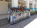 Các hoạt động trong lễ khai giảng của trường Mẫu Giáo Tân Hội