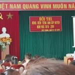 Hội thi hùng biện tiếng anh cấp huyện