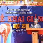 KHAI GIẢNG NĂM HỌC 2018 - 2019